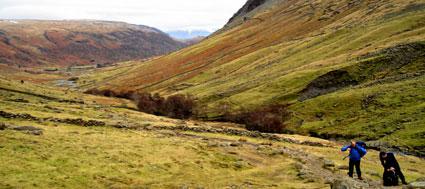 hill-walking